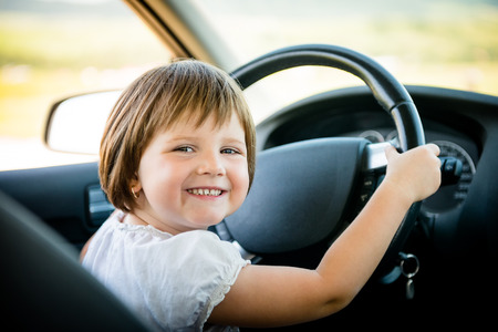 kid driving car news